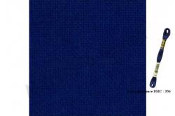 FEIN AIDA de Zweigart, coloris 589 marine