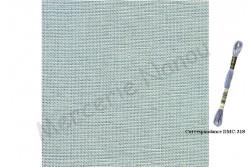 Toile de lin naturel EDIMBURGH de Zweigart, coloris 705 gris perle 14 fils au cm