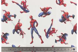 """coupon de tissu pour masque """"Spiderman"""""""