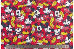 """coupon de tissu pour masque """"Mickey 1"""""""