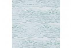 """Tissu Stof """"Ebb & Flow - Océan"""" de Shell Rummel"""