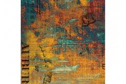 """Tissu Stof """"Urban Grunge - Patina"""" de Tim Holtz"""