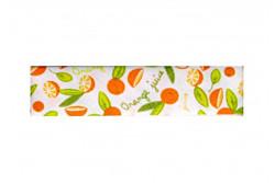 """Biais 20mm à motifs """"Oranges et mandarines"""""""