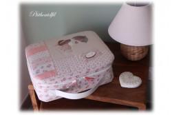 """Pack des TISSUS + MOLLETON + ZIP pour la """"ptite valise"""" de """"Un petit..."""