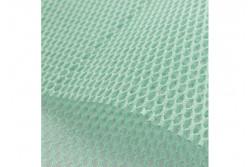 Tissu filet coton bio couleur vert d'eau