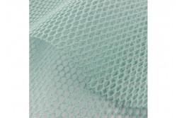 Tissu filet coton bio couleur turquoise
