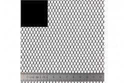 """Tissu filet """"Mesh Fabric"""" couleur noir"""