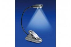 Lampe Flexible Super 2 Leds couleur argent