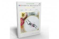 """Kit de broderie décorative French Kits """" là pour toi"""""""