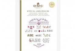 Mini livre point de croix spécial abécédaire de DMC