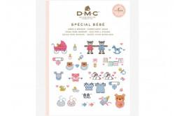 Mini livre point de croix bébé de DMC