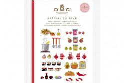 Mini livre point de croix cuisine de DMC