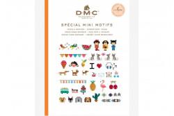Mini livre point de croix mini motifs de DMC
