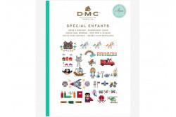 Mini livre point de croix motifs enfants de DMC