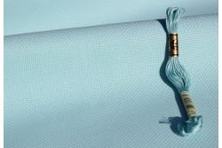 Toile Aida de Zweigart, coloris  5146 bleu aigue marine