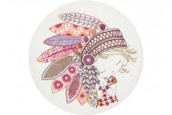 """Kit de broderie traditionnelle """"Salomé la petite apache"""""""