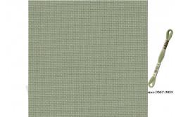 Toile Aïda de Zweigart 8 pts/cm, coloris 6016 vert amande