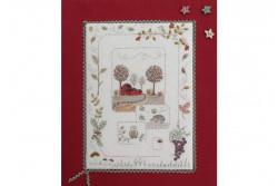 """Kit de broderie traditionnelle """"L'automne"""""""