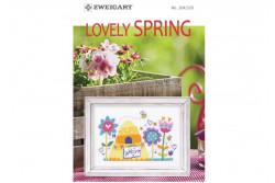 """Livret Zweigart N° 320 """"Lovely Spring"""""""