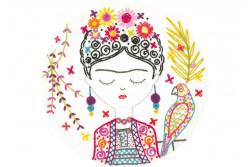 Kit broderie Easy Custo - Jolie Frida