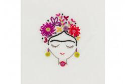Kit broderie Easy Custo - Frida