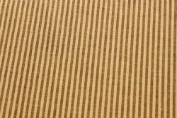 """Tissu Patchwork Stof """" Stripes """" beige et prune"""
