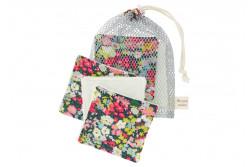 """Kit couture 6 lingettes lavables et leur filet """"Fabric Thorpe"""""""