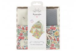 """Kit couture 6 lingettes lavables et leur filet """"Fabric Margaret Annie"""""""