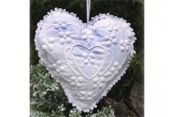 Kit de Boutis Coeur blanc