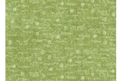 Tissu patchwork Collection Purrsnickitty meow fond vert