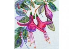 """Kit de broderie """"Fuchsia"""""""