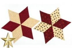 Patron gratuit de patchwork Tissus stof Noël 2015