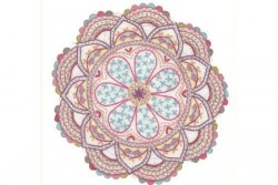 "Kit de broderie traditionnelle ""Mandala N°8"""