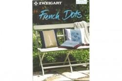 """Livret Zweigart N° 279 modèles de broderie""""french dots"""""""