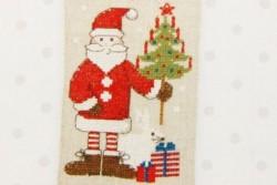 """Kit de broderie Rico """" Père Noël"""" suspension"""