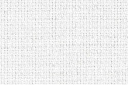 Toile Aida 6.4 pts au cm, coloris 100 blanc