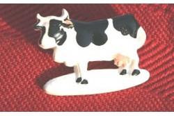 """Bouton en résine """"vache normande"""""""