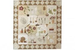 """Pack complet des tissus pour le Quilt restaurant """"Gourmand"""""""
