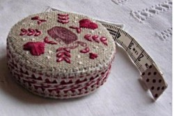 "Kit de broderie Jour de lin ""Mètre Ruban Sewing"""