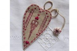 """Kit de broderie Jour de lin """"Porte ciseaux sewing"""""""