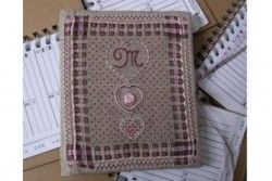 """Kit de broderie Jour de lin """"Mes p'tites adresses"""""""