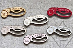 "bouton en bois ""cutter rotatif patch"""