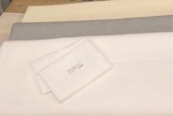 "Toile 100% lin pour broderie traditionnelle ""Monaco"" blanc"