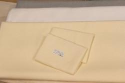 Tissu pour broderie traditionnelle 100% lin crème