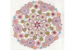 "Kit de broderie traditionnelle ""Mandala N°3"""