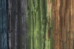 Tissu patch batik de Benartex Landscape river bank