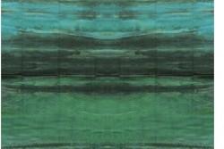 Tissu patch batik de Benartex Landscape emeralde Isle