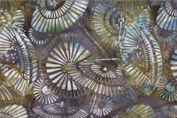 "tissu patch Bali Handpaints batik Parasols ""Urbana"""