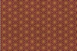 """Tissu Patch collection """"Glimmering"""" dessins géométriques fond bordeaux"""