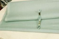 Toile de lin NEWCASTLE de Zweigart, coloris 7094 vert de gris